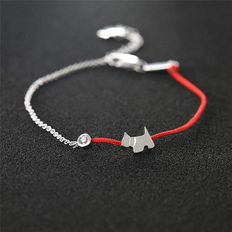 Red-Rope-Bracelet-Dog-Year-Girl-Silver-Lucky-Hand-Rope-Zodiac-Couple-Bracelet-Pair-for-Men