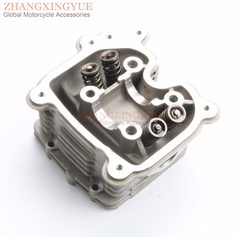 4-Valve / 4V cylinder head assembly for GY6 152QMI 157QMJ 125 150 180cc GP110 4T bosch 14 4v 4 0ah 1600z00033