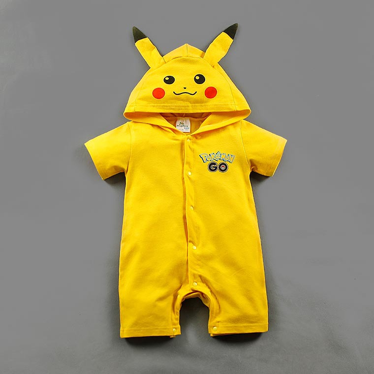 Pokemon Go Toddler Infant Baby Boy Girl Outfit Romper Cosplay Costumes boys pikachu costume go girl only go 698272 go girl only