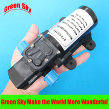 цены 5l/min 60W 12VDC automatic pressure switch type with on/off button and socket high pressure micro diaphragm water pump automatic