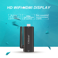 HFLY Mirascreen B4 tv stick Linux 2.6 antenna HD wifi hdmi dongle chrome cast no lag with android ios pc mac crome cast