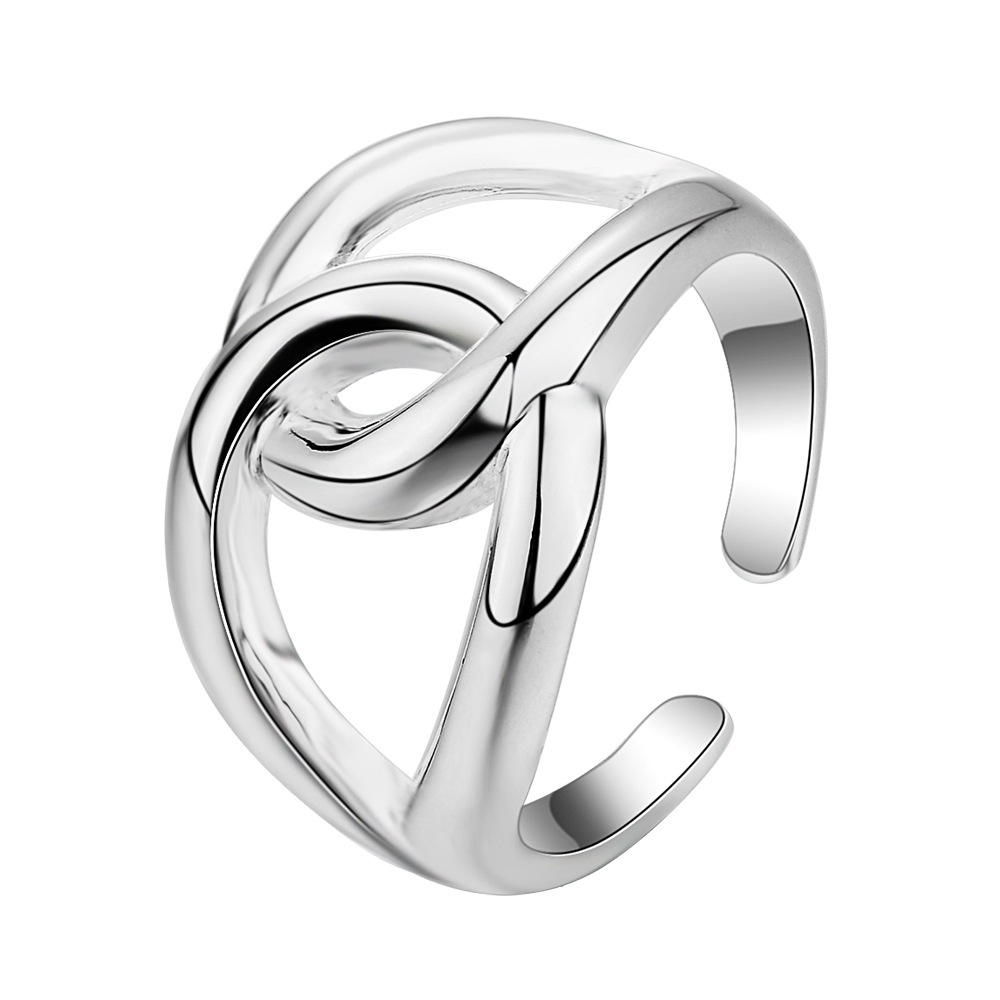 Silver plated Ring Fashion Jewerly Ring Women&Men , /UOWEIXCF MNMJADET