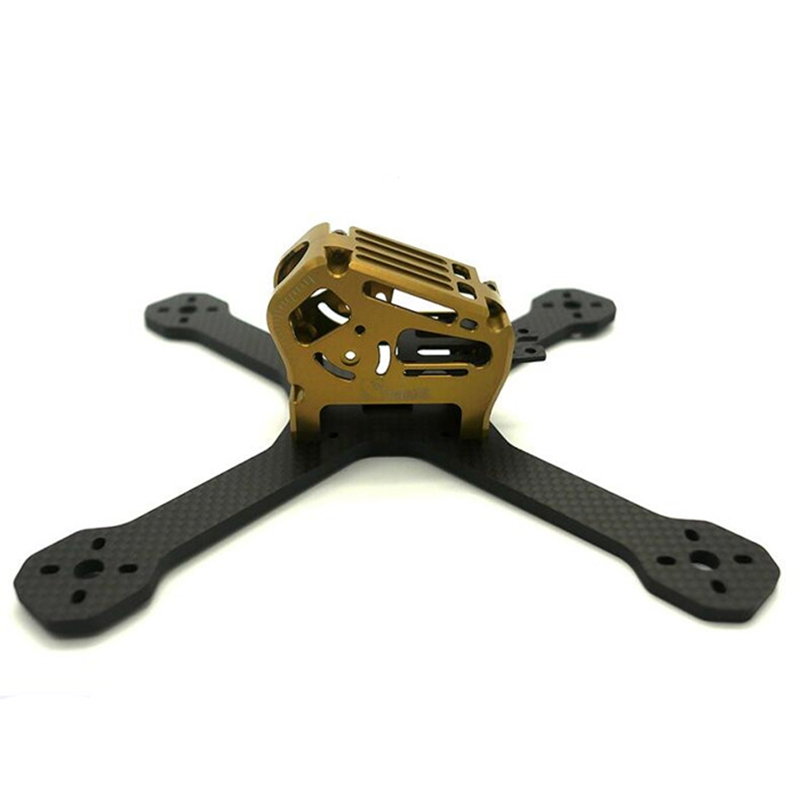 цены High Quality TransTEC ZORO Race / Lite 195mm 220mm 3K 4mm Carbon Fiber FPV Racing Frame For RC Model