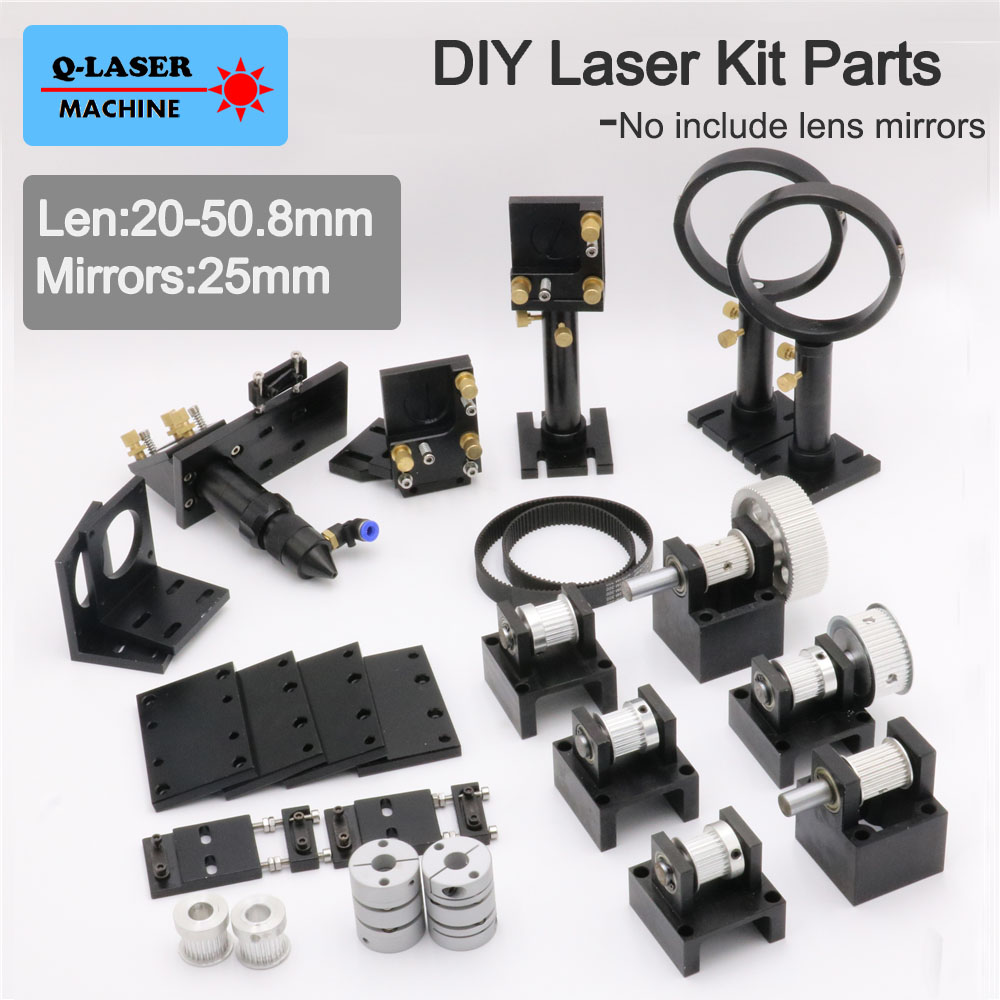 Co2 Laser Kit Mechanical Parts 20-50.8mm for DIY CO2 Laser Engraving and Cutting Machine diy 40w co2 laser kits for laser cutting and engraving machine