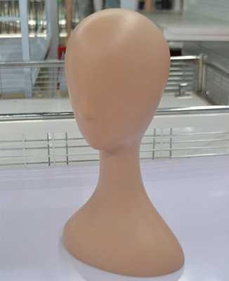 CAMMITEVER Gele Huidskleur Vrouwelijke Mannequin Hoofd, Abstracte Witte Mannequin Hoofd Voor Hoed/Pruik Weergave