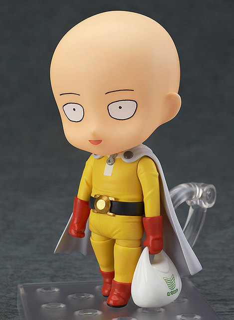 Anime 10cm Saitama Nendoroid 575 ONE PUNCH MAN