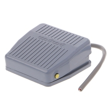 цена на 250V 10A Foot Pedal Switch SPDT 1NC 1NO Momentary Electric Power Control Switch LS'D Tool qiang