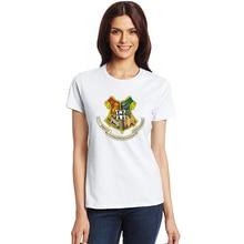 Hogwarts Alumni T Shirt Men Women Harry Funny Potter T-shirts New Novelty Design Short Sleeve O-neck Cotton Tshirts Plus Size