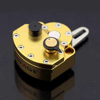 Universal Reversed Safety Adjustable STEERING DAMPER STABILIZER Motorcycle Accessories CNC Billet Aluminum