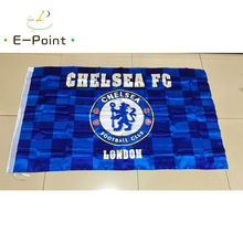 England EPL Chelsea FC 3ft*5ft (90*150cm) Size Christmas Decorations for Home Flag Banner Type C Gifts