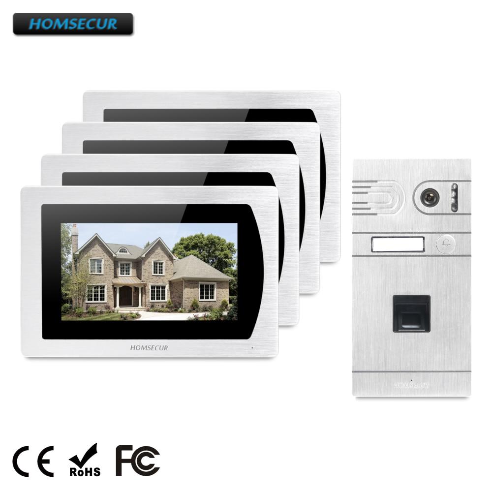 HOMSECUR 7 Hands-free Video Door Phone Intercom System+Aluminium Alloy Camera BC061-S+BM717-S велосипед scool chix alloy 20 3 s 2018