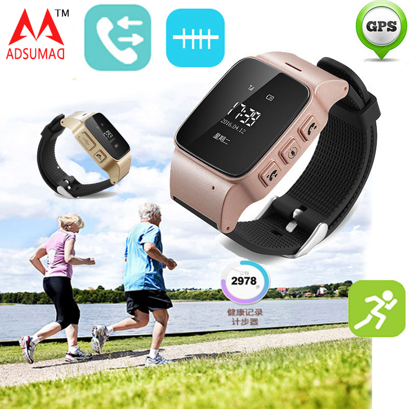 smart phone watch Elderly GPS Tracker Google Map SOS Wristwatch Personal GSM GPS LBS Wifi Safety Anti-Lost Locator LBS wifi call yuanhang smart universal gps lbs tracker locator sos call watch for elder parents heart rate monitor alarm anti lost wristwatch