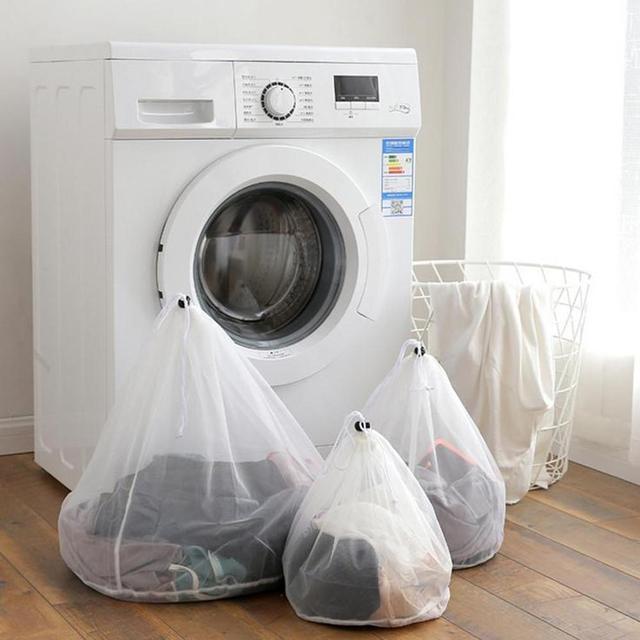 Cordão Sacos de Underwear Bra Lavanderia Cestas De Malha Sacos De Armazenamento De Lavanderia Saco de Lavagem de Cuidados de Lavagem de Limpeza Doméstica
