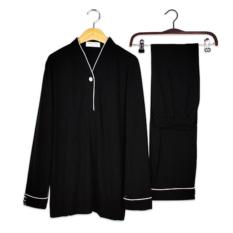 Japanese Zen Suit 100% Cotton Pajama Sets Women Long Sleeve Cozy Pijama Mujer Women Pyjamas Han Chinese Clothing