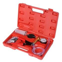 2 w 1 płyn hamulcowy Bleeder ręczny ręczny zestaw narzędzi do pompy próżniowej w/Box w Zestawy narzędzi ręcznych od Narzędzia na