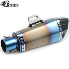 36-51MM Universal Motorcycle Exhaust Pipe muffler Dirt Bike With DB Killer For Honda MSX125  DIO AF27/AF28 CRF230 F CRF CB650F