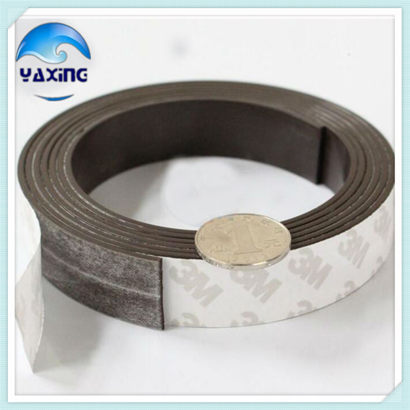 5M Soft Rubber Magnetic Tape 20mm Width 1.5mm Thickness Rubber Magnetic Strip Stripe Flexible Magnet DIY Craft Tape 5pcs magnet sheet a4 thickness 1mm rubber magnetic strip tape flexible magnet diy craft tape