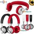 100% original meizu hd50 bass auriculares con micrófono plegable diseño auriculares hifi dj auriculares de aleación de aluminio excelente