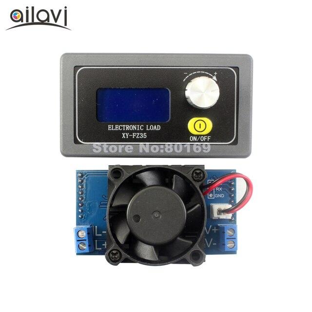5A35W Универсальный батарея ёмкость тестер регулируемый постоянный ток Электронные нагрузки USB зарядное устройство Тестер