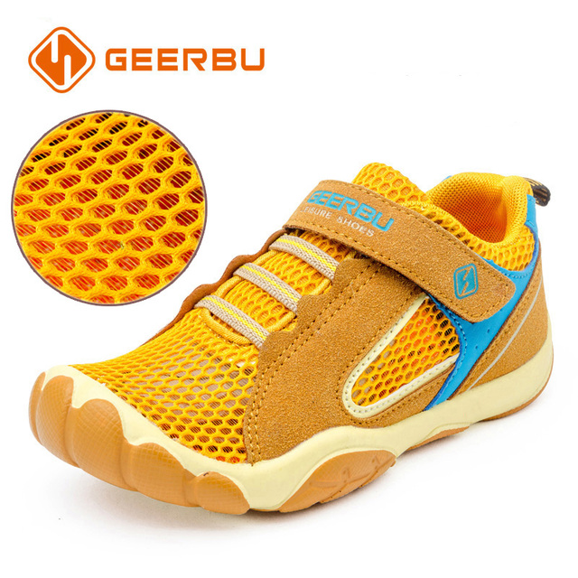 43d0b2dccbe GEERBU Kinderen Kids Jongens Sneakers Sport Schoenen Maat 28-40 Ademend  Mesh Kind Trainers Tiener