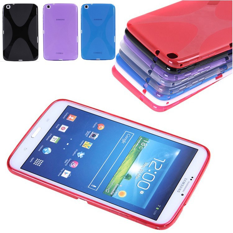 Quality Soft X TPU Case Silicon Case Semi Clear Gel Back Cover Skin For Samsung Galaxy Tab 3 8.0 P8200 T310 T311 T315 Tab3 8 new x line soft clear tpu case gel back cover for samsung galaxy tab s2 s 2 ii sii 8 0 tablet case t715 t710 t715c silicon case