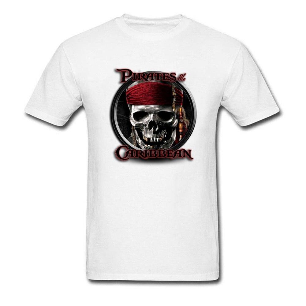 Pirates Of The Caribbean Hero T-Shirt Men 2018 Latest Design New York Tshirt 100% Organic Cotton Clothes Shirt Undershirt Fall