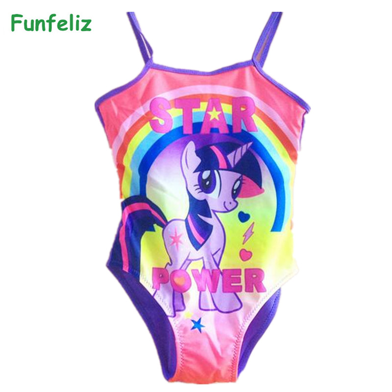 LQSZ Girls Swimwear Swimsuit Swimming Costume One Piece Pool Beach Holiday Bathing Suit for Kids Gifts
