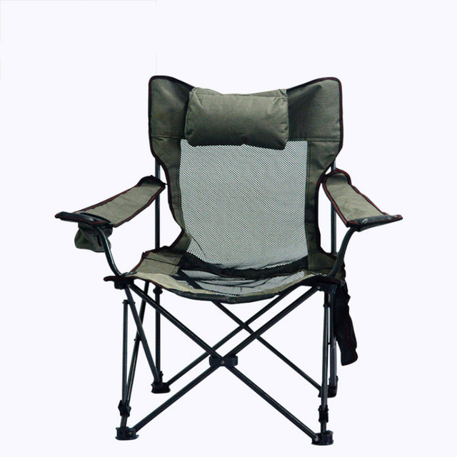 Awesome Us 70 69 Adjustable Chair Steel Folding Beach Chair Leisure Sofa Chair Armchair Outdoor Camping Lunch Break Fishing Folding Chair In Fishing Chairs Ocoug Best Dining Table And Chair Ideas Images Ocougorg