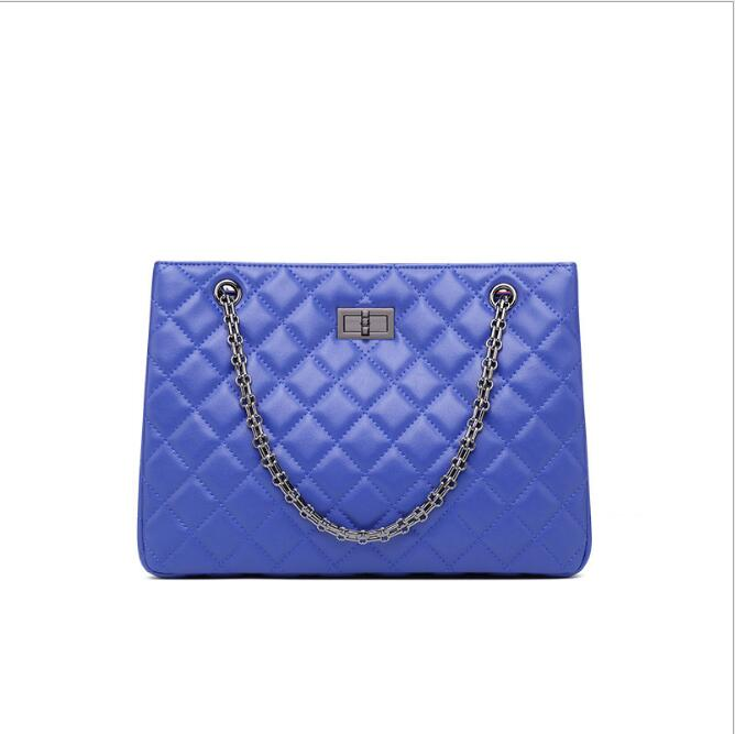 2018 New fashion Big women Messenger bags women luxury Tote ladies handbag Chain shoulder bag все цены
