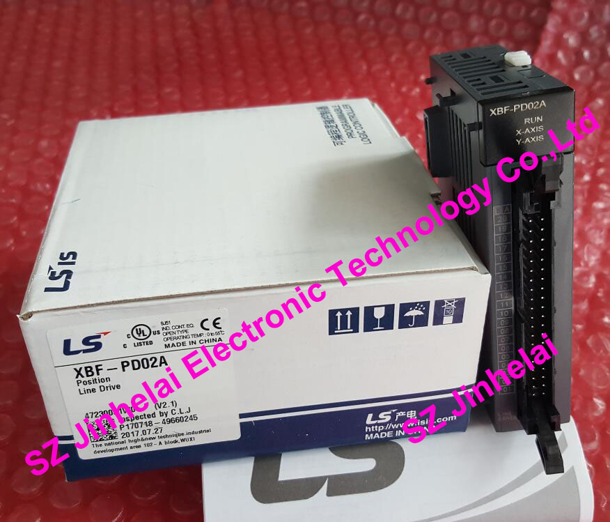 100% New and original  XBF-PD02A  LS(LG)  PLC   2 axis sex driving type position control module 100% new and original xgl pmea ls lg plc communication module rnet master