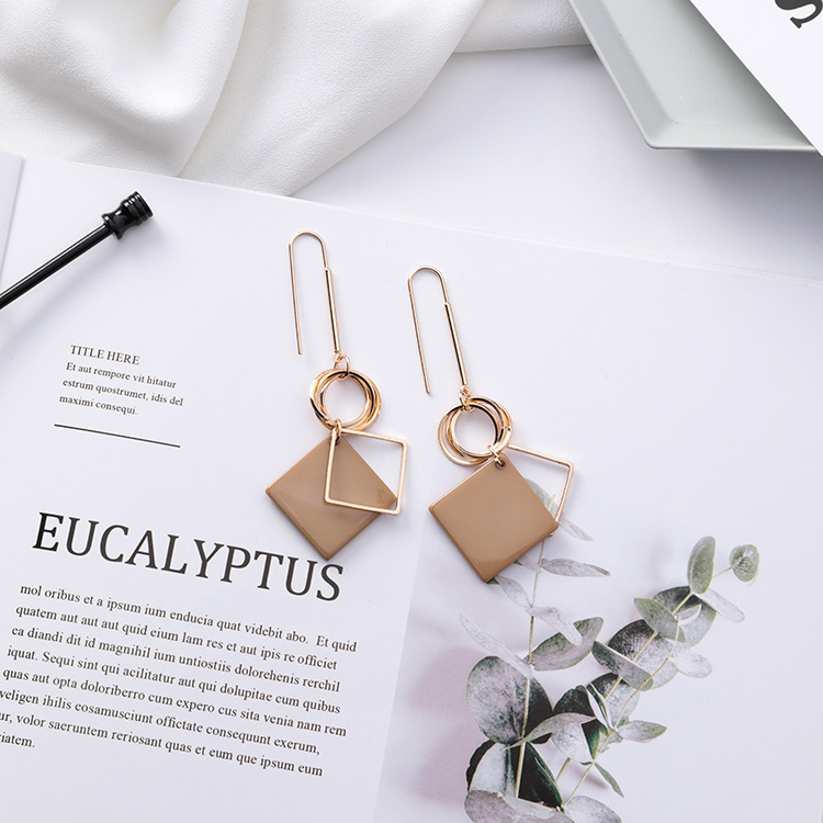 Long Hook Dangle Earrings for Women   5