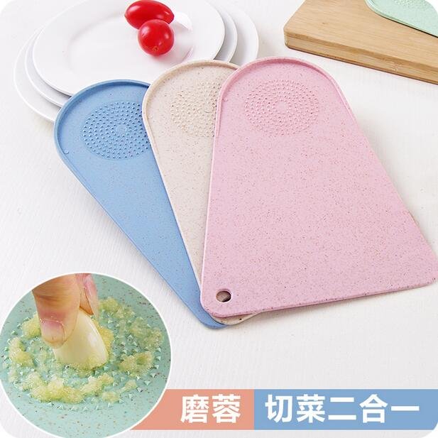 Multifunctional Plastic Cutting Board Kitchen Small Fruit Chopping Mini Household Mat In Blocks From Home Garden On