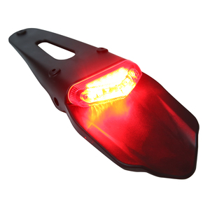 Image 3 - For Honda For Kawasaki 1PC 12V 0.3W Motorcycle Rear Fender LED Stop Light Red Tail Lamp Waterproof Electronic Board