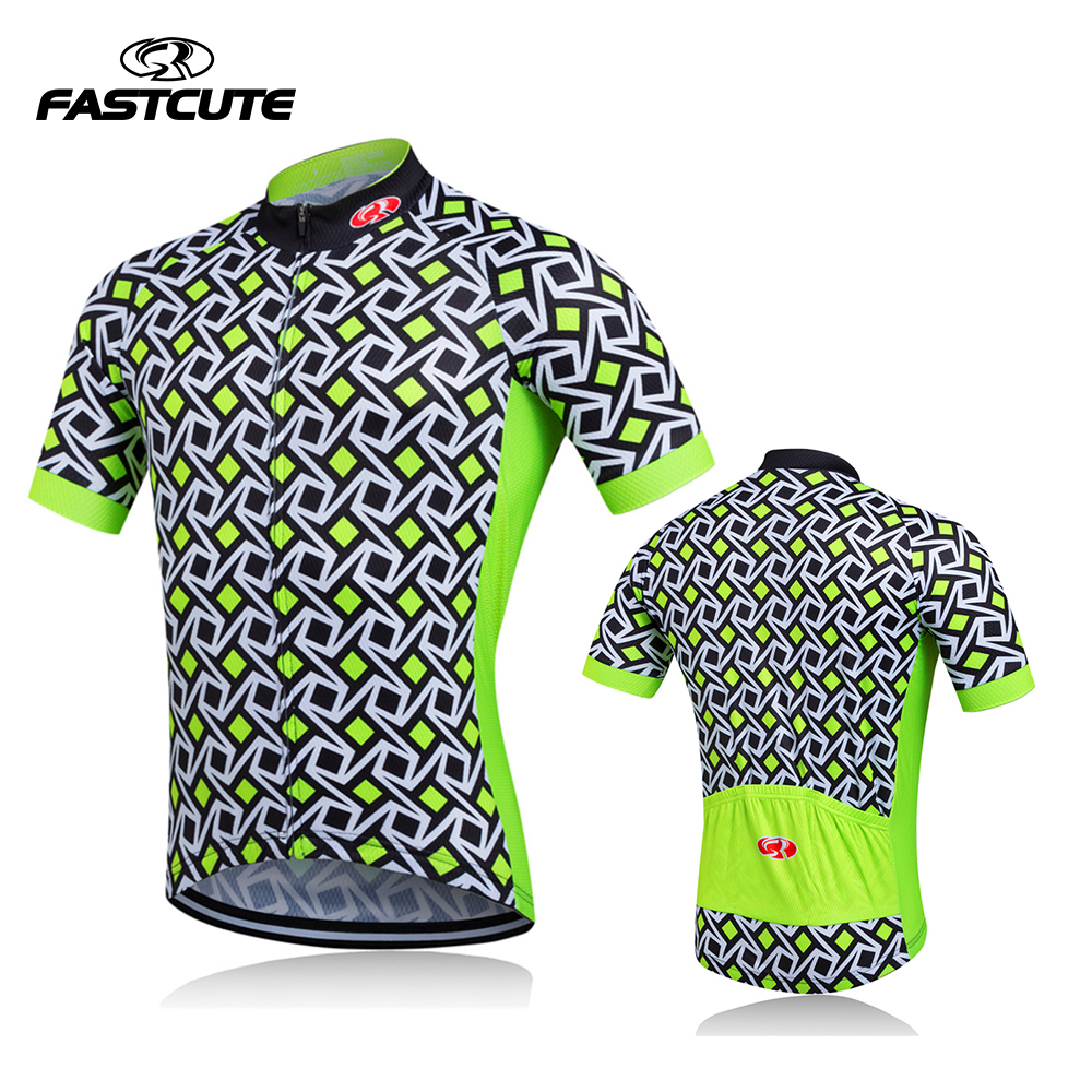 Bike team 2016 Women/Man Cycling jersey tops/short sleeve bike clothing summer style/Bicycle Clothes Yellow/Green/Yellow/Red