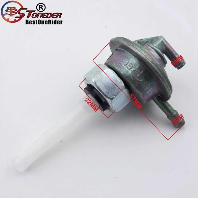 Stoneder газового топлива коснитесь Клапан Petcock переключатель для китайских gy6 50cc 90cc 110cc 125cc 150cc мопед скутер quad atv