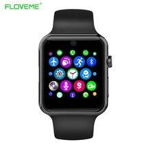 Für Apple iPhone Android Smart Uhr Bluetooth Sync GSM Sim-karte Smartwatch Intelligente Gesundheit Tragbare Geräte Uhren Mit Box
