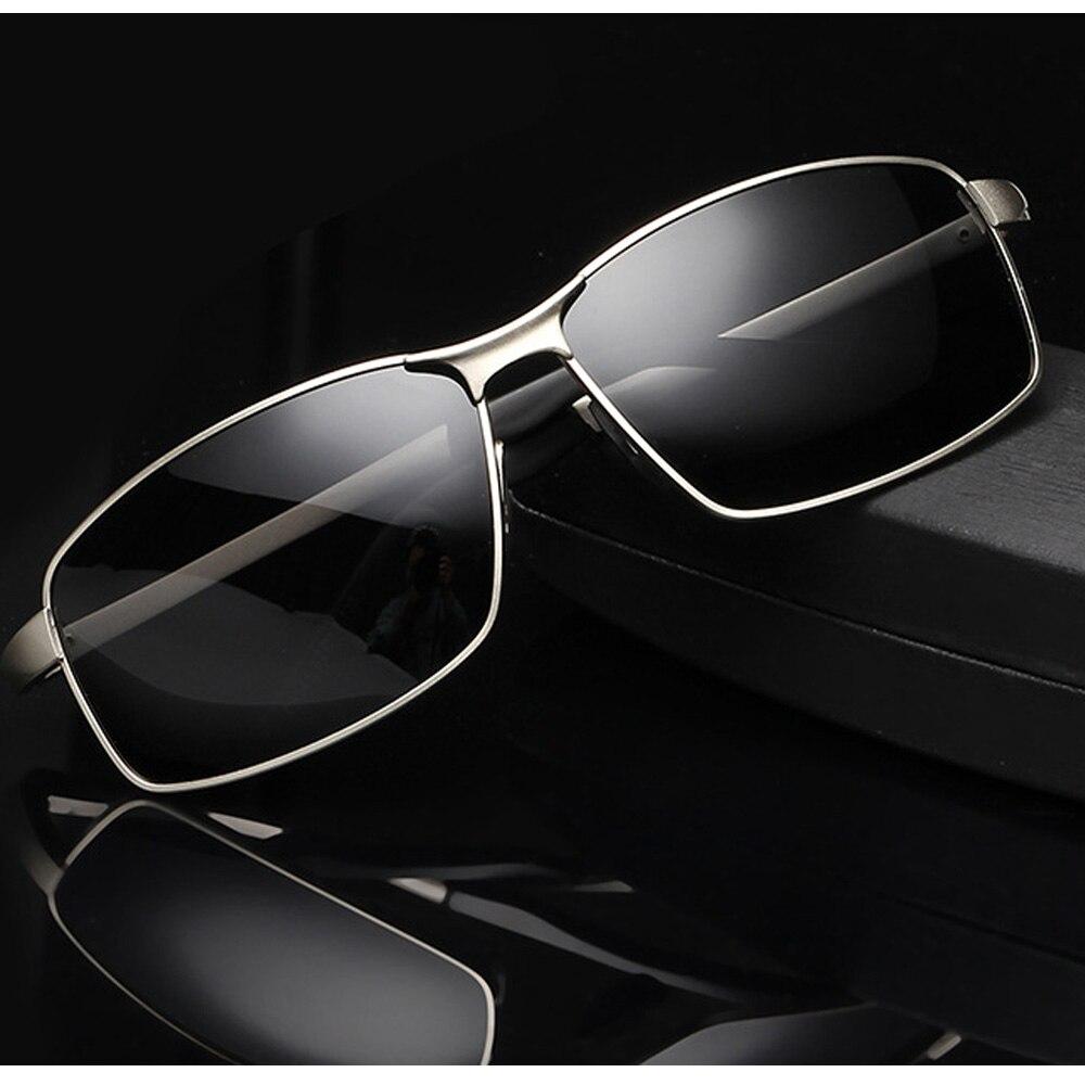 df0f07dcb4 2018 aluminium magnesium alloy inner coating polarized sunglasses men UV400  polaroid sport driving Outdoor designer sun glasses-in Sunglasses from  Apparel ...