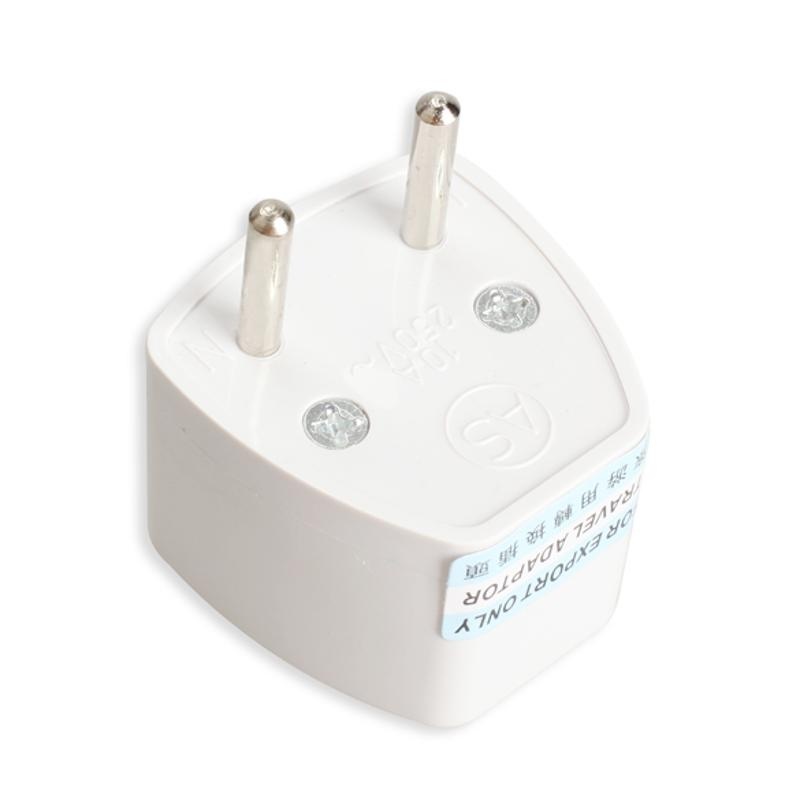 Vanpower Универсальный адаптер питания для путешествий из Великобритании и США в ЕС и Европе, переходник, настенная розетка, электрическая розе...