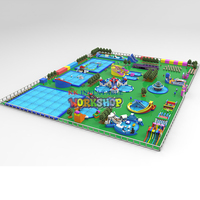 Commercial Outdoor Giant Inflatable Floating Water Park