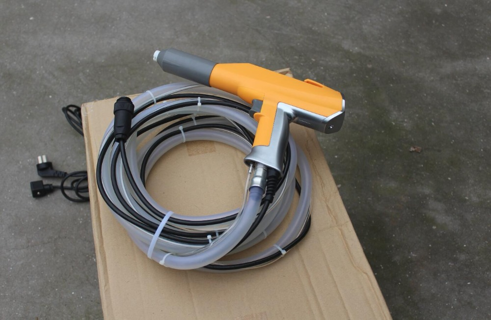 electrostatic powder coating spray gun suits for Gema optiselect gema gm02 cg07  with 6m cables