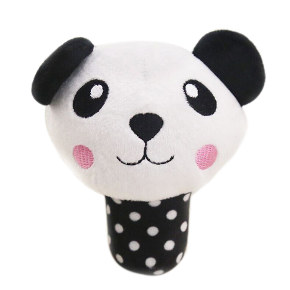 High Quality Pet Cute Toys Dog Puppy Chew Toy Squeaky Plush Sound Cute Animal Design Toys Doys Lovely Panda Hot Selling