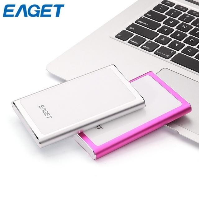Big promoção eaget g90 500 gb hdd 2.5 ''ultra-fino usb 3.0 de alta velocidade externo portátil portátil à prova de choque duro unidade de disco rígido disque
