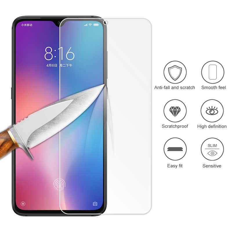 Tempered Glass For Xiaomi Mi 9 8 SE Play 6X 5X A1 A2 Screen Protective Full Cover For Xiaomi Redmi 7 Note 7 6 6A 4 Pro 5A 5 Plus
