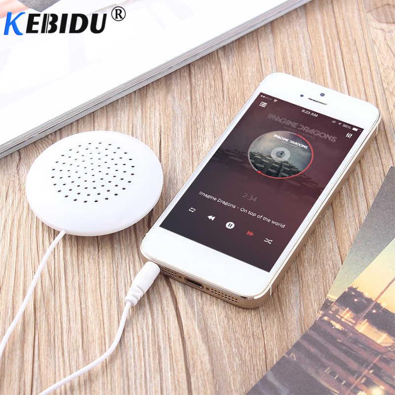 Kebidu ミニイヤホンポータブル 3.5 ミリメートル枕スピーカー MP3 MP4 CD 電話ヘッドホンため睡眠 iphone × 8 サムスン HUAWEI 社 XIAOMI