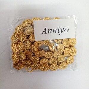 Image 5 - Anniyo ความยาว 53 ซม./83 ซม./200 ซม.กว้าง 9 มม., เอธิโอเปียหนาผู้หญิง GOLD สีแอฟริกา Eritrea ชายดูไบอาหรับ #046506