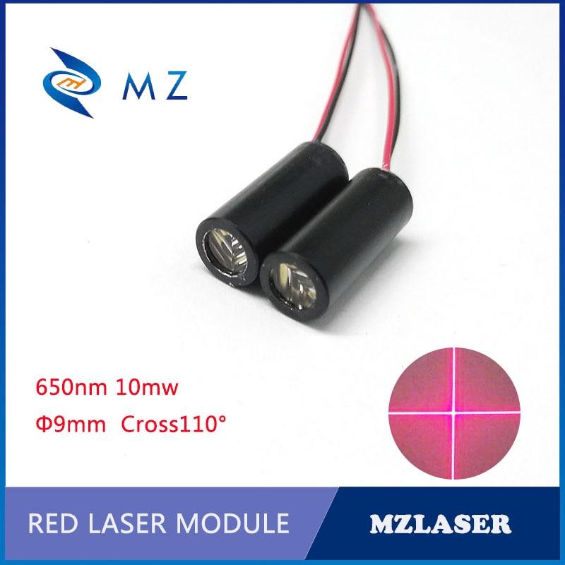 Cross  650nm10mw Red Laser Module Cross Industrial Grade Positioning Laser Module