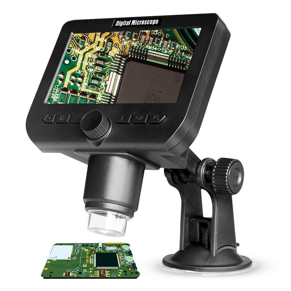 Digital Microscope For Electronics Microscopes Wireless 50x 1000x  Wifi Phone Microscope With 8 Brightness Led Lights