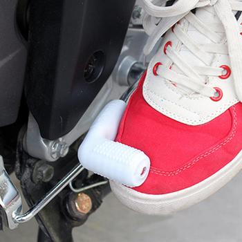 Nowa motocyklową dźwignię zmiany biegów gumowa skarpeta uniwersalna dźwignia zmiany biegów buty buty zmiany biegów Moto motocyklowe ochraniacze Case tanie i dobre opinie Buty Ochrony Mężczyźni Unisex Kobiety Black Blue Orange Red White Yellow Moto shoes Motorcyle boots One Size Rubber