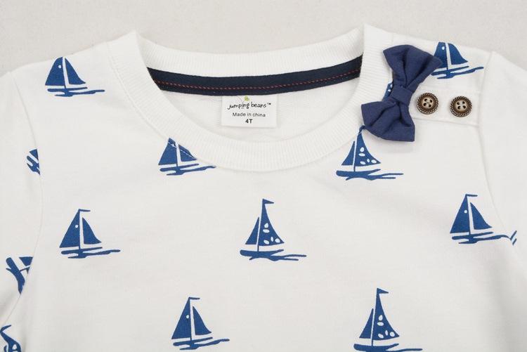 HTB1L8ueadPJ3eJjSZFLq6yb3FXai - New 2017 Brand Quality 100% Terry Cotton Sweater Shirt Baby Boys Clothes Children Clothing Kids Sailboat for t shirt Blouse Boy