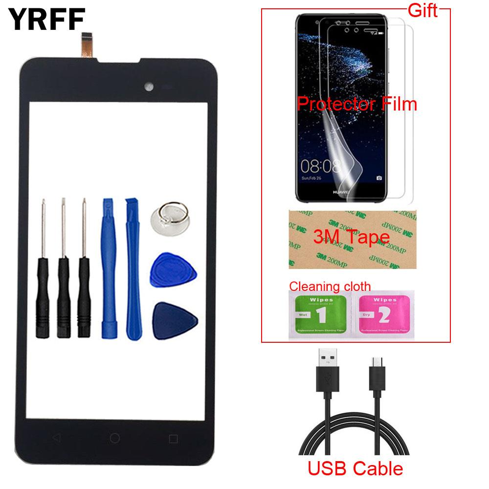 YRFF 5.0'' Mobile Touch Screen Digitizer For BQ BQ-5035 BQ 5035 BQS 5035 Sensor Front Glass Panel Touchpad Touchscreen